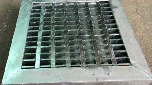 Tấm sàn grating nắp hố ga bằng thép